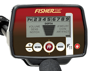 Fisher F11 metaaldetector