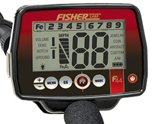 Fisher F44 metaaldetector