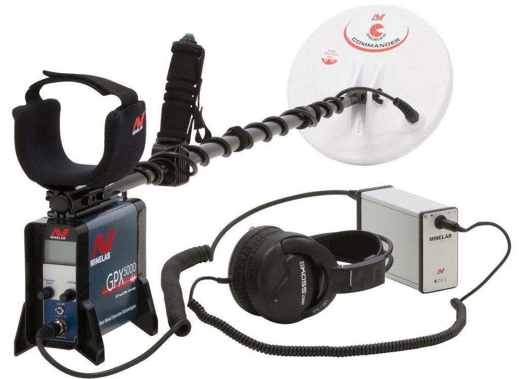 Minelab GPX 5000 metaaldetector