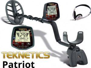 Teknetics metaaldetector - Patriot metaaldetector